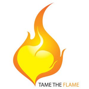 Tame the Flame logo